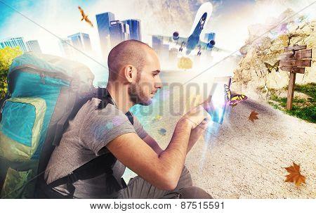 Explorer recalls his travels