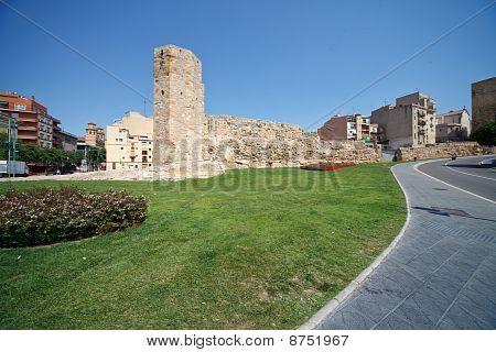 Tower Era Of Ancient Rome In Tarragona, Spain