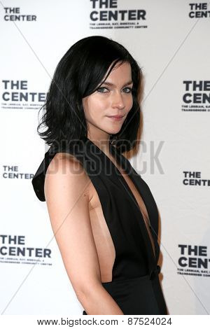 NEW YORK-APR 2: J Leigh Lezark attends the 2015 Center Dinner at Cipriani Wall Street on April 2, 2015 in New York City.