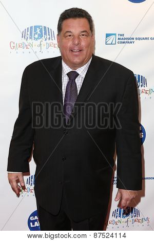 NEW YORK-MAR 28: Actor Steve Schirripa attends the 2015 Garden Of Laughs Comedy Benefit at the Club Bar and Grill at Madison Square Garden on March 28, 2015 in New York City.
