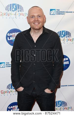 NEW YORK-MAR 28: Comedian Bill Burr attends the 2015 Garden Of Laughs Comedy Benefit at the Club Bar and Grill at Madison Square Garden on March 28, 2015 in New York City.