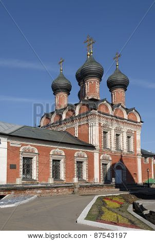 High-Petrovsky male monastery. Church of the Theotokos of Bogolyubovo in Moscow