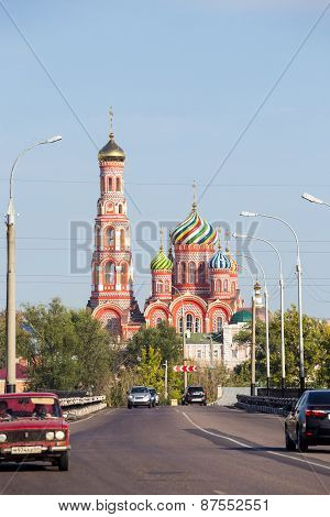 Russia. Tambov. Cathedral Of The Ascension