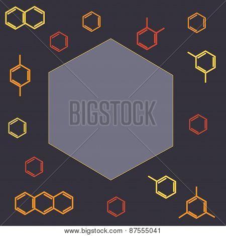 Molecule benzene and naphthalene, anthracene