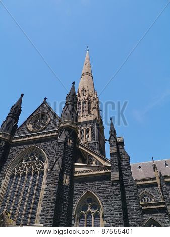 Saint Patricks cathedral in Melbourne