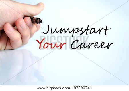 Jumpstart Your Career Concept