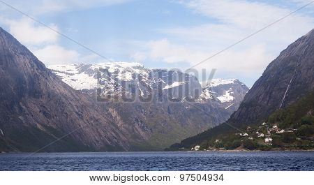Cruising the Aurlandsfjord, Norway
