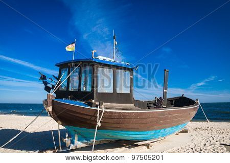 Fishing boats Baltic Sea