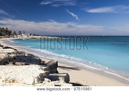 Galshanim Beach. Haifa. Israel.
