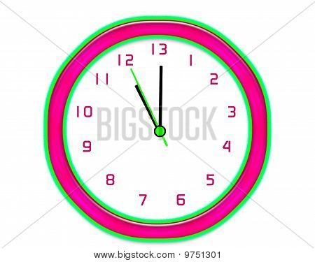 Making Extra Time Clock - Isolated