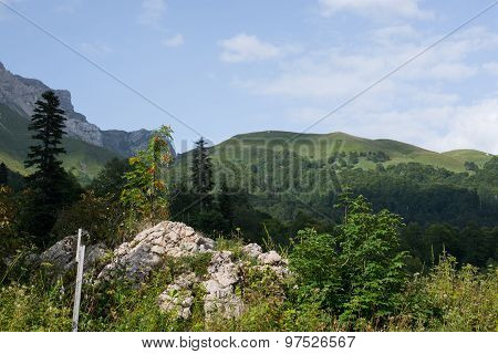 Beautiful Mountains of North - Western Caucasus