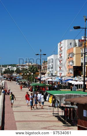 Barbate promenade, Spain.