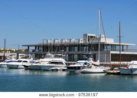 Barbate marina, Spain.