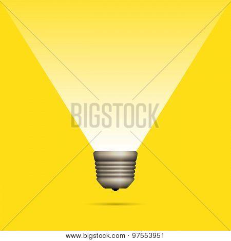Lightbulb Idea Copyspace