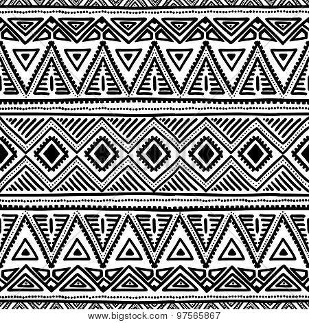 Seamless ethnic pattern.