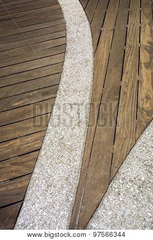 Board Walk Scenes At Hilton Head Georgia