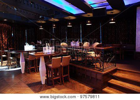 Classy Upscale Restaurant Interior