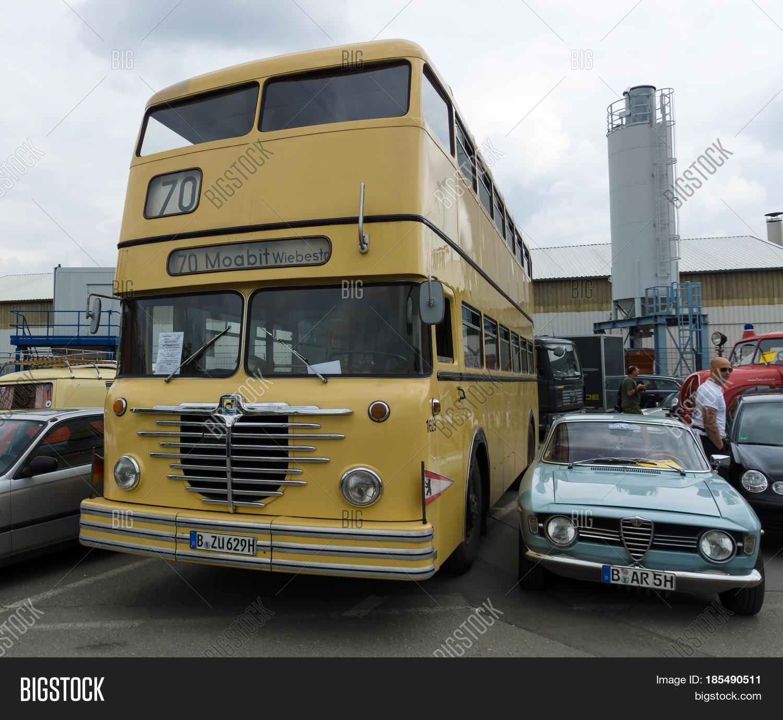 Mythos Berlin Doppeldecker DE Büssing Bus Berlin BVG Omnibus H0 å-Copy