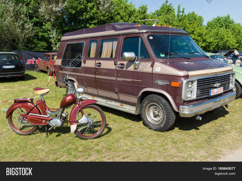 f9f831efc8 PAAREN IM GLIEN GERMANY - MAY 19  Full-size van Chevrolet Van G20 and