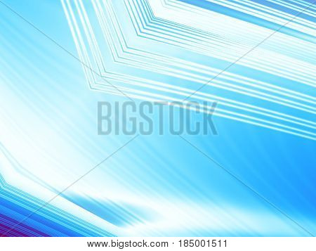Ice blue and white abstract fractal background with structures and light effects. For technical business industrial projects and designs templates layouts pamphlets presentations phones