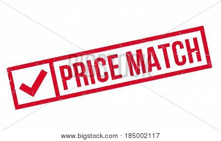 Price Match rubber stamp. Grunge design with dust scratches. Effects can be easily removed for a clean, crisp look. Color is easily changed.