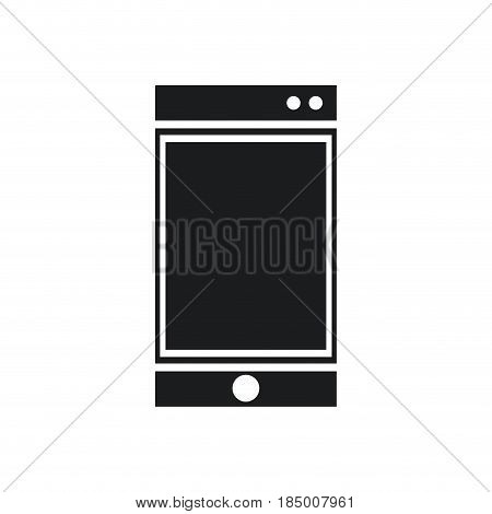 smartphone technology communication device pictogram vector illustration