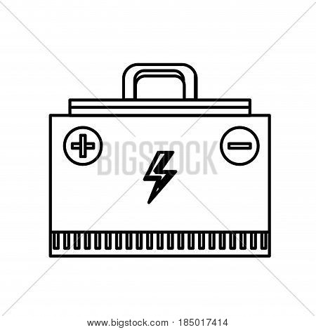 line energy logger to meter electricity in the planet, vector illustration