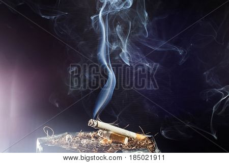 World No Tobacco Day ,Cigarette, addiction, ashtray ,cigarette, cigarette butt, cigarette filter