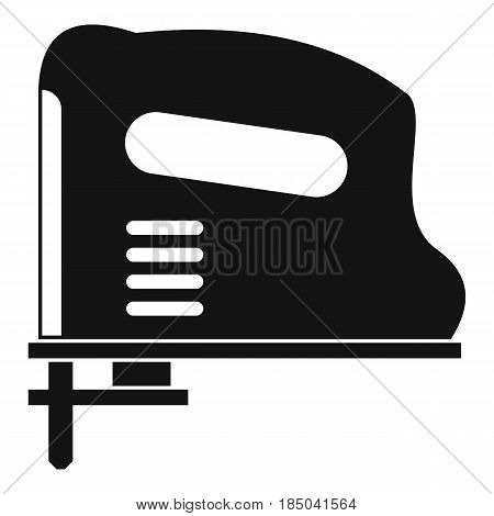 Pneumatic gun icon in simple style isolated vector illustration