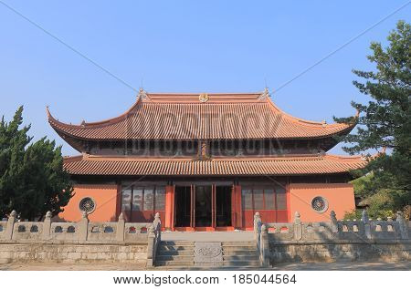 Historical architecture of Confucian temple in Suzhou China