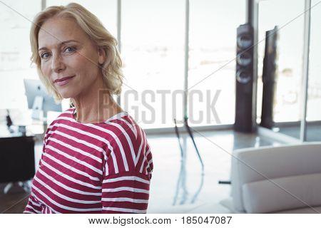 Portrait of mature businesswomen at office