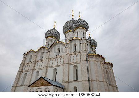 The Kremlin In Rostov Velikiy City