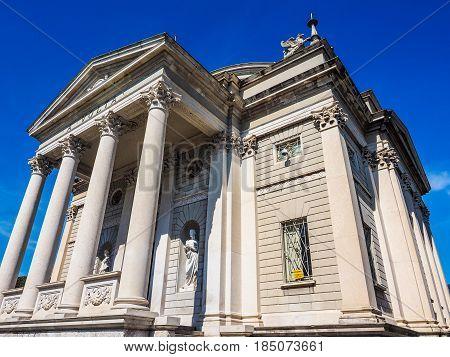 Tempio Voltiano (volta Temple) In Como (hdr)