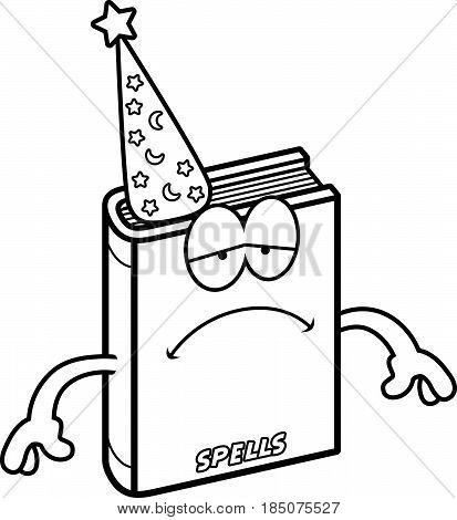 Sad Cartoon Spell Book