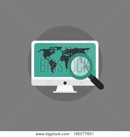 Web analytics design. Business concepts for business. Vector stock.