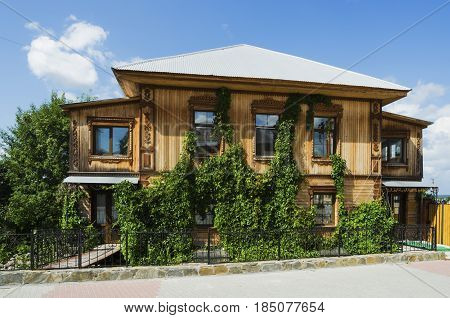 Beautiful Wooden House