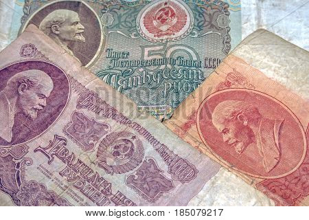 Old Money Of The Soviet Union