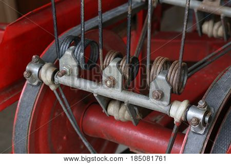 Technology / Various parts of agricultural machinery / Agriculture detail