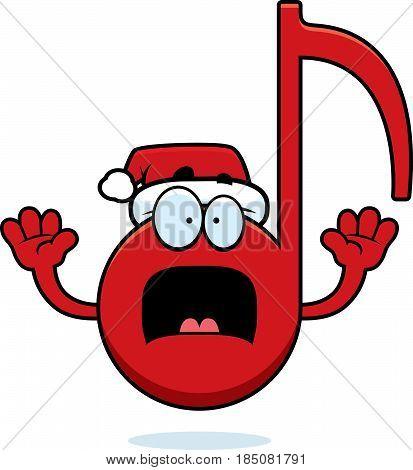 Scared Cartoon Christmas Music
