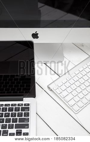 Macbook Laptop And Imac Computer