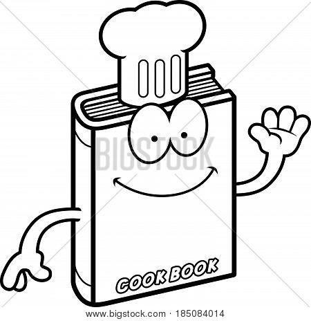 Cartoon Cookbook Waving