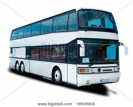 Double Decker Tour Bus