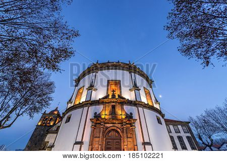 Serra do Pilar Monastery Church in Porto Portugal