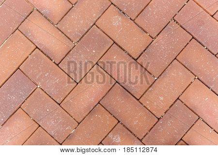 Paving stone background on city street for background