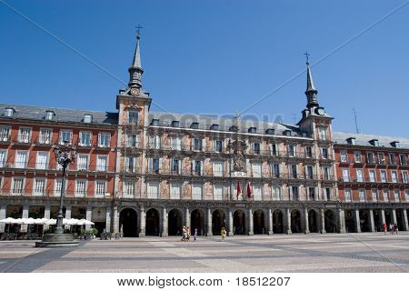 Plaza Mayor in Madrid, Spain