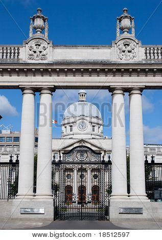 Leinster House Government Building, Dublin, Ireland