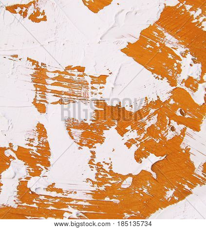 Acrylic paint texture with blue and white brush strokes for interesting and dynamic backgrounds. Suitable for web design patterns and pages.