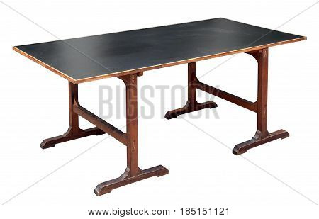 Simple Old Table Style Mahogany Desk