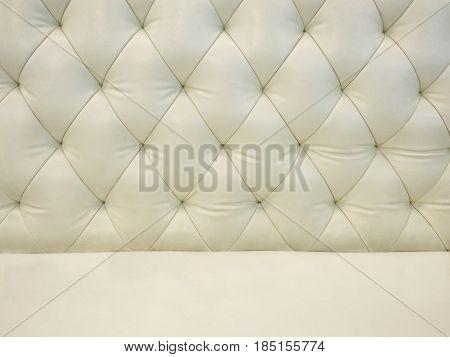 Cream leather sofa texture background. Cream leather sofa texture background.