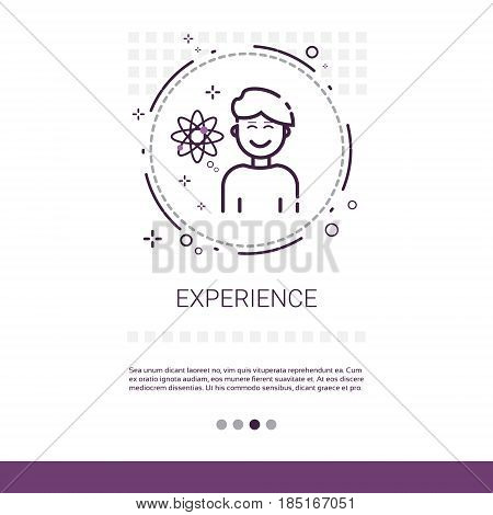 User Experience Quality Evaluation Banner With Copy Space Vector Illustration